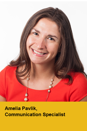 Amelia Pavlik, Communication Specialist